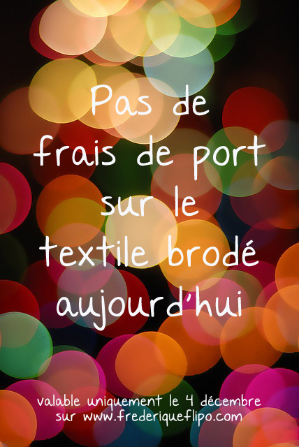 calendrier avent fdp broderie